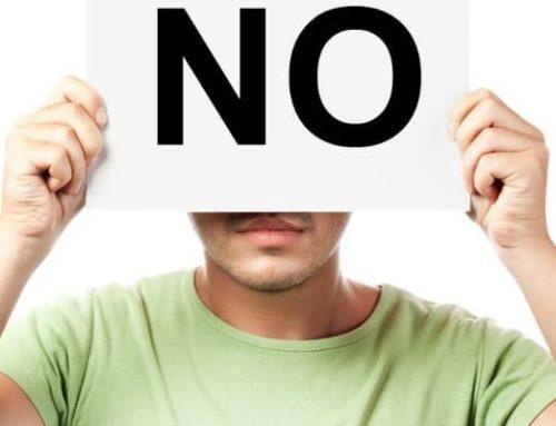 ¿Por qué me cuesta decir no?